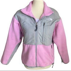 The North Face Jacket Denali Pink Gray Size Small